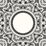 Lace frame Stock Photos