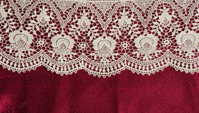 Lace frame Stock Images