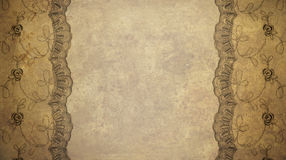 Lace frame Royalty Free Stock Photos