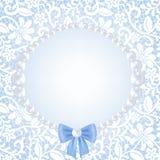 Lace frame Stock Image