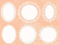 Lace Frames Royalty Free Stock Photos