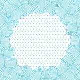 Lace and frills hand drawn vector background.  vector illustration