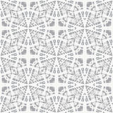 Lace on grey, simple vector geometrical pattern. White lace on grey, clean and simple vector geometrical pattern, website background or fashionable textile, or Stock Photos