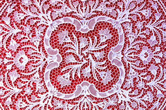 Lace handwork Stock Images