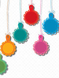 Lace Hang Tag Stock Images