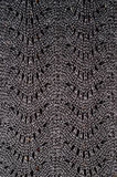 Lace knitted structure Stock Photos