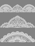 Lace, lace napkins royalty free illustration