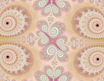 Lace-like background. Lace-like rendered softcolored background Royalty Free Stock Images