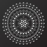 Lace mandala design pattern vector Stock Photo