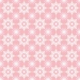 Lace On Pink Background Stock Images