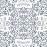 Lace ornament with curls round Stock Photography