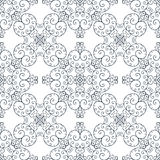 Lace ornament with curls Royalty Free Stock Photos