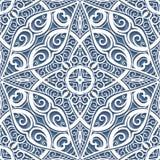 Lace ornament, cutout paper pattern. Swirly lace texture, cutout paper ornament, seamless pattern royalty free illustration