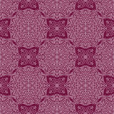 Lace ornament on a purple background. Seamless ornament bright line on a purple background Royalty Free Stock Photos