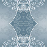 Lace ornamental background Stock Photography