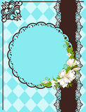 lace ornaments and flowers Royalty Free Stock Images