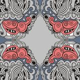 Lace paisley abstract art deco retro celtic pattern. Retro pattern can be used for wallpaper interior. Royalty Free Stock Image
