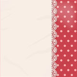 Lace panel border background Royalty Free Stock Photos