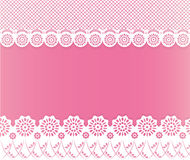 Lace papercut background. Floral lace papercut background or card vector illustration