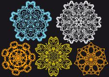 Lace pattern,  Stock Photography