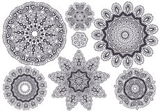 Lace pattern,  Royalty Free Stock Photo