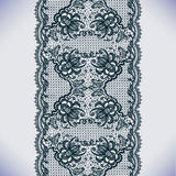 Lace pattern. Abstract Lace Ribbon Seamless Pattern. Template frame design for card. Lace Doily. Can be used for packaging, invitations, and template vector illustration