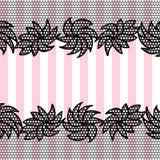 Lace pattern background Stock Photo