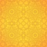 Lace pattern background with indian ornament Stock Photos