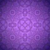 Lace pattern background with indian ornament Royalty Free Stock Photo