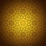 Lace pattern background with indian ornament Royalty Free Stock Photography