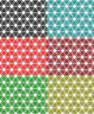 Lace pattern. Colored net pattern. Interlock lines Stock Images