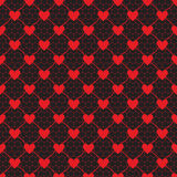 Lace pattern with heart Stock Images