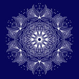 Lace pattern8. Lace ornament, circular pattern, vector image Royalty Free Stock Images