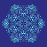 Lace pattern. Lace ornament, circular pattern, vector image Royalty Free Stock Photos