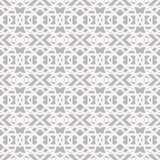 Lace pattern with white shapes in art deco style. Simple elegant lace pattern with white shapes on grey silver background in art deco style. Texture for web Stock Image