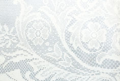 Lace pattern. White lace pattern use for background Stock Photos