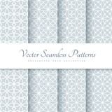 Lace patterns in neutral color Royalty Free Stock Photography