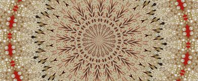 Lace and pearl. Lacy pearl kaleidoscope background Royalty Free Stock Image