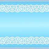 Lace with pearls Royalty Free Stock Photos