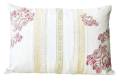 Lace pillow Royalty Free Stock Image
