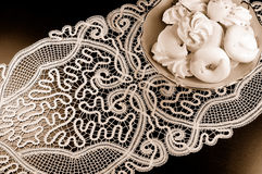 Lace pillow Royalty Free Stock Photography