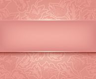 Lace pink Royalty Free Stock Images