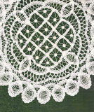 Lace place mat. Royalty Free Stock Photography
