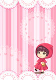 Lace raincoat children background Royalty Free Stock Photo