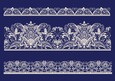 Lace. Raster version of illustration Stock Photography