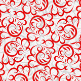 Lace red background Royalty Free Stock Photo
