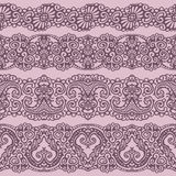 Lace ribbon Stock Images