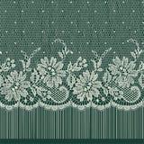 Lace Ribbon. Horizontal Seamless Pattern. Stock Photography
