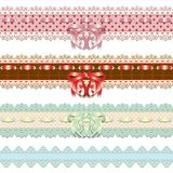 Lace ribbons Royalty Free Stock Image