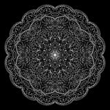 Lace round ornament. Royalty Free Stock Image